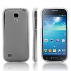 ENKAY Protective Soft TPU Back Case Cover for Samsung Galaxy S4 Mini / i9190  - Grey