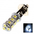 GCD H118 H1 3.5W 160lm 6500K 18-SMD 5050 White Light Car Headlamp - Silver (12V)