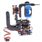 2-Axis Gopro 3 Brushless Camera Mount Gimbal w/ Motor & Controller for Gopro3 Aerial Photography