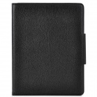 Detachable Bluetooth V3.0 83-Key Keyboard w/ PU Leather Case for Ipad 2 / 3 / 4 - Black