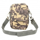 SW3069 Outdoor Sport Waterproof 600D Oxford Shoulder Bag - ACU Camouflage