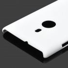 Stylish Protective ABS Back Case for Nokia 925 - White