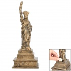CIGL MT9175A the Statue of Liberty Shape Coin Saving Bank Money Box - Black + Golden