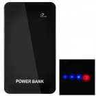 Ultrathin External 4000mAh Power Battery Charger w/ Touch Control for iPhone / Samsung / HTC - Black