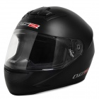 LS2 FF350 Professional Safety Motorcycle Riding Helmet - Black (Size L)