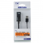 CY MH-040 Slimport MyDP to HDMI HDTV Adapter for Google LG Nexus 4,Optimus G Pro,QH582,Asus PadFone