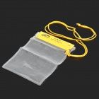 RYDER 1F1305 Multifunctional PVC Waterproof Bag for Cellphone / Digital Camera - Yellow (Size-Small)