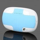 Modische Universal-4000mAh Lithium-Ionen-Energien-Bank w / Built-in-Ladekabel - Blau