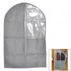 8067 Visible Non-Woven Cloth Dust-Proof Suit Storage Bag Protector - Grey