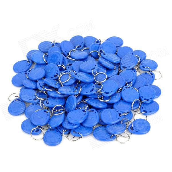 MJID-1 Entrance Guard Inductive ID Key Cards - Blue (100 PCS) m 013 door entrance guard id card white 10 pcs