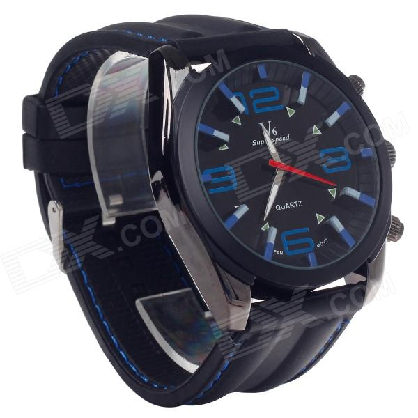SuperSpeed V0176 Fashionable Stainless Steel Men's Quartz Analog Wrist Watch - Black (1 x LR626) go6800 b1 g92 700 a2 g92 720 a2 g92 740 a2 g92 975 a2 g92 985 a2 g92 283 b1 g92 284 b1 g92 286 b1 g92 289 b1 stencil