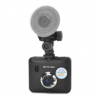 "HWZ K5000 2.7"" TFT 1.3MP HD 1080P Wide Angle Car DVR Camcorder - Black"