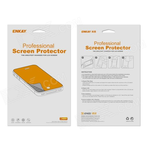 ENKAY HD Crystal Clear Screen Protector Protective Film Guard for Huawei Ascend P6