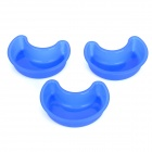 Moon Stil Kuchen / Jelly / Soap Silicone Mold - Blau (3 PCS)