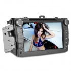 "Joyous 8.0"" Touch Screen Car DVD Player for Toyota Corolla - Grey"