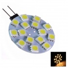 GCD 209 G4 4W 150lm 15-SMD 5050 LED White Light Car Lamp (12V)
