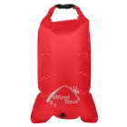 WindTour 01329312 Multifunction Outdoor Waterproof Drift Bag / Storage Bag - Red (22L)