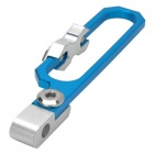 Universal Motorcycle Aluminum Alloy Odometer Bracket - Blue + Silver