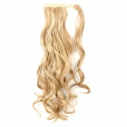 DIR-022 Woman's Fashionable Curly Ponytail High-temperature Resistant Fibre Wig - Blond