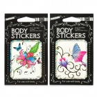 D87/D91 Butterfly Style Body Temporary Tattoo Stickers - Multicolored