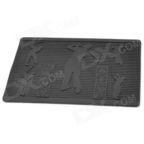 Silicone Magic Car Anti-Slip Mat / Pad for Gadgets - Black
