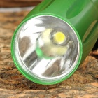 HHL-AA-01-LVSE Straw Hat Lamp LED 15lm 1-Mode Cold White Flashlight - Green (1 x AA)