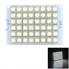 DD13 3.2W 250lm 6000K 48-LED White Light Board - White (10~14V)