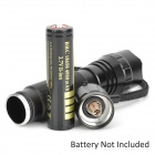 COFLY KX-F501 600lm White 3-Mode Outdoor Cycling Flashlight w/ Cree XM-L T6 - Black (1 x 18650)