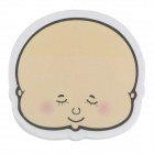 Baby Happy Expression Style Sticky Note Memo Pads - Nude