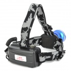 SLT-H122 600lm 3-Mode White Zooming Headlamp w/ Cree XM-L T6 - Blue