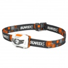 Sunree Youdo2 122lm Neutral White 7-Mode Headlamp w/ Cree XR-E R3 - White + Grey + Orange (3 x AAA)