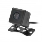 CAPF SJ-617 Waterproof Vehicle Car Rearview Video Camera - Black (DC 12V/PAL)
