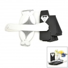 Tuxedo Dress Style Groom Bridal Wedding Candy Box - Black + White