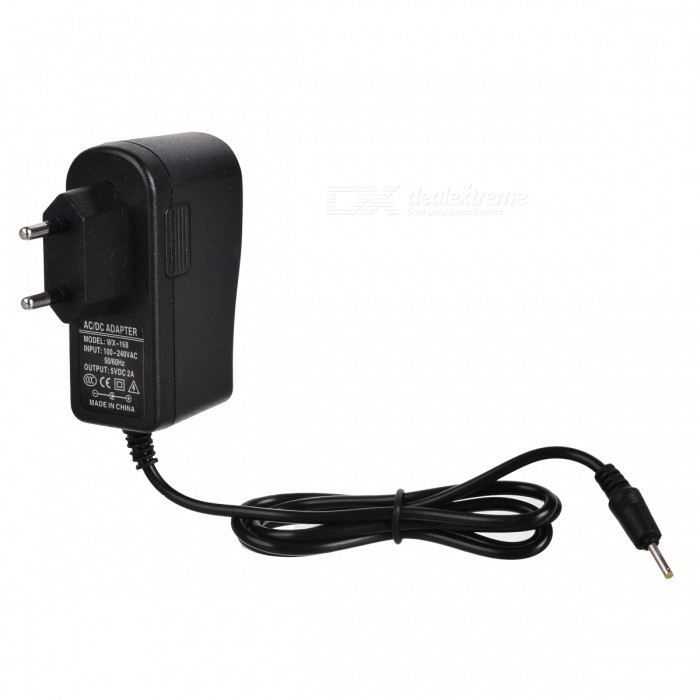 2.5mm 100~240V EU Plug Power Adapter for Tablets (5V 2A)