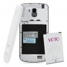 "VOTO X2 1.5GHz Quad-Core Android 4.2 WCDMA Bar Phone w/ 5.0"" FHD IPS, 1GB RAM, 16GB ROM, GPS - White"