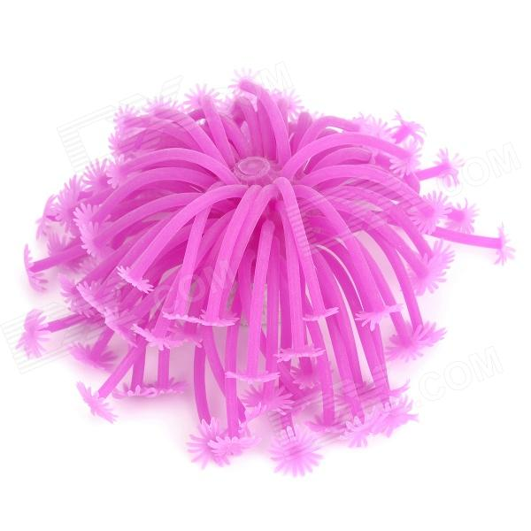 ZEA-HK1 Realistic Decoration Sea Anemone for Pet Fish Zone - Purple