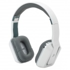 DICSONG DS-8802 Foldable Headphones w/ Microphone - White + Grey + Silver