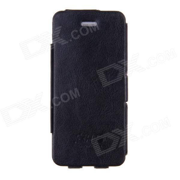 SHS Ultrathin Protective PU Leather Case w/ Stand for Iphone 5 - Black гель для душа the saem body