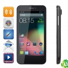 "CUBOT GT99 Quad-Core Android 4.2 WCDMA Bar Phone w/ 4.5""HD, Wi-Fi, GPS and Dual-SIM - Black"