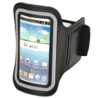 Stylish Sports Gym Neoprene Armband Case for Samsung S4 Mini i9190 - Black