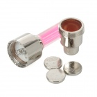 Car Bike Motorcycle Wheel Valve Caps Cover Vibration Sensor Light - Deep Pink (3 x AG1 / 2 PCS)