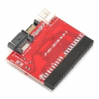 SATA to 40-Pin IDE Bidirectional Adapter Card - Red + Black