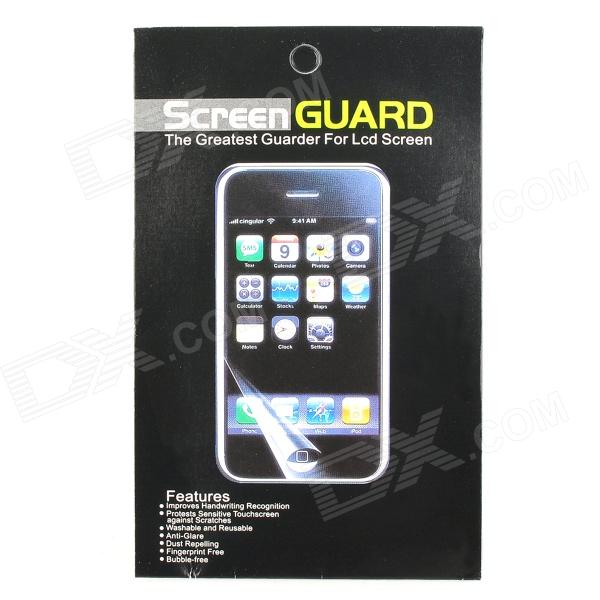 Waterproof Protective PET Screen Protector w/ Cleaning Cloth for LG E970 / Optimus G - Transparent