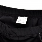SAHOO 48802 Polyester & Spandex Bike Cycling Shorts - Black (Size XL)