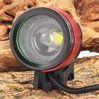 SL-8004 3-Mode White Zooming Bike Light w/ Cree XM-L U2 - Black + Red