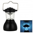 Outdoor Sports Emergency 6 x LED White Camping Lamp - Black (3 x AAA)