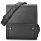 VIDENGPOLO Stylish Men's PU Leather Business Shoulder Bag - Coffee