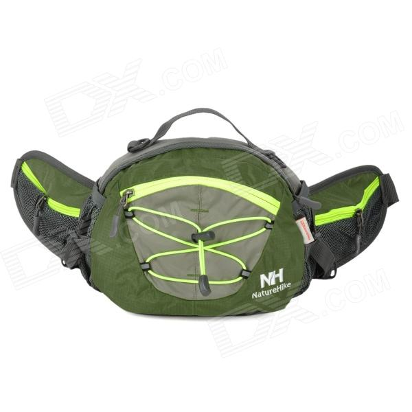 Naturehike-NH YB03 Multifunction Water Resistant Sports Waist Bag - Army Green + Grey harlem hl1086 outdoor sports tpu water bag army green 3l