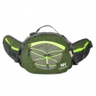 Naturehike-NH YB03 Multifunction Water Resistant Sports Waist Bag - Army Green + Grey