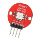 Keyes 5050 RGB LED Module for Offical Arduino Products - Red + Silver